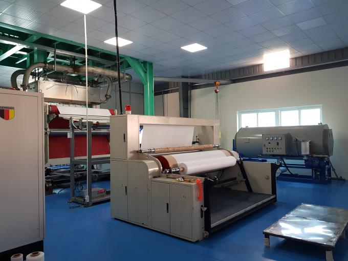 Công ty Quang Trung ra mắt dây chuyền sản xuất giấy lọc kháng khuẩn công nghệ cao